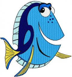 Dory 15 embroidery design