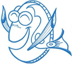 Dory 5 embroidery design