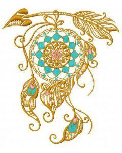 Dreamcatcher 14 embroidery design