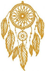 Dreamcatcher 11 embroidery design