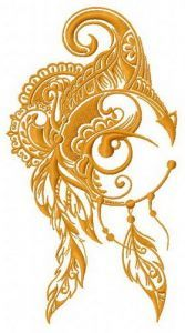 Dreamcatcher 23 embroidery design