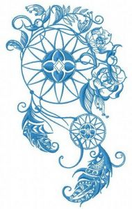 Dreamcatcher 26 embroidery design