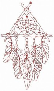 Dreamcatcher 30 embroidery design