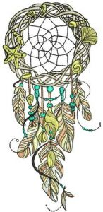 Dreamcatcher 31 embroidery design