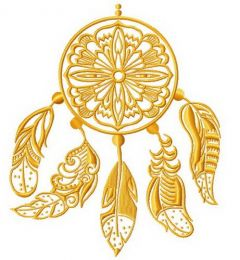 Dreamcatcher 9 embroidery design