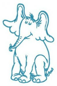 Dreamy Horton embroidery design