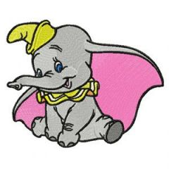 Dumbo 1 embroidery design