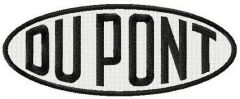 DuPont logo embroidery design