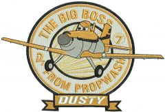 Dusty Crophopper embroidery design
