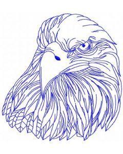 Eagle embroidery design 10