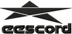 Eescord Logo embroidery design