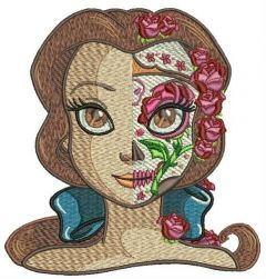 Fancy Belle embroidery design