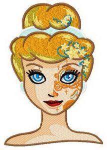 Fancy Cinderella 2 embroidery design