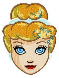 Fancy Cinderella 3 embroidery design