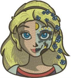 Fancy Cinderella 5 embroidery design