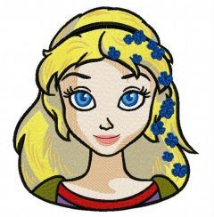 Fancy Cinderella 6 embroidery design
