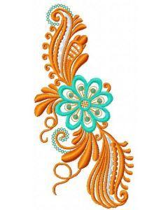 Fantastic flower 3 embroidery design