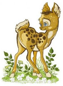 Fawn 3 embroidery design