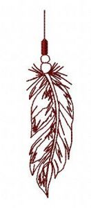 Feather 39 free embroidery design