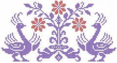 Firebird 1 embroidery design