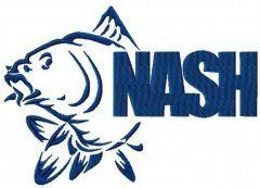 Fish Nash embroidery design