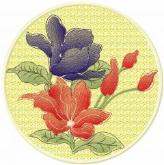 Flower 48 embroidery design