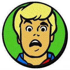 Fred Jones embroidery design