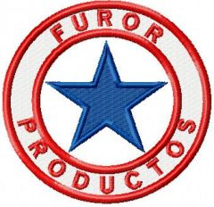 Furor Products embroidery design