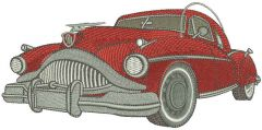 General Motors vintage Buick embroidery design