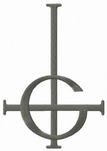 Ghost BC Grucifix Symbol Band embroidery design