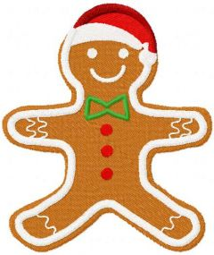 Gingerbread 2 embroidery design