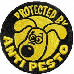 Gromit embroidery design