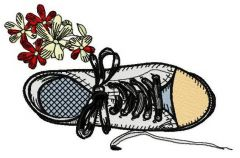 Gumshoes 2 embroidery design