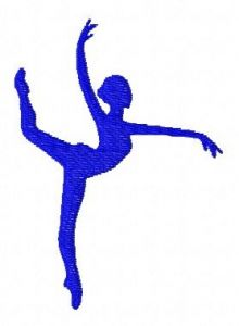 Gymnastics 2 embroidery design