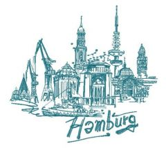 Hamburg 2 embroidery design