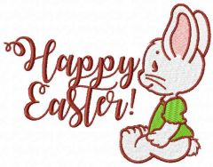 Happy Easter 11 embroidery design