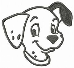 Happy Patch embroidery design