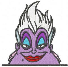 Happy Ursula embroidery design