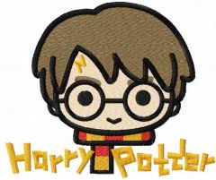 Harry Potter embroidery design
