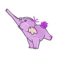 Heffalump small 2 embroidery design