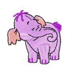 Heffalump small embroidery design 3