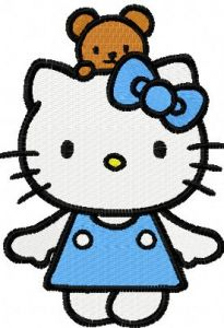 Hello Kitty Fun Game embroidery design