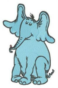 Horton embroidery design