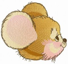 House mouse embroidery design