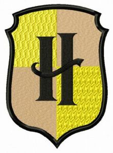 Hufflepuff embroidery design