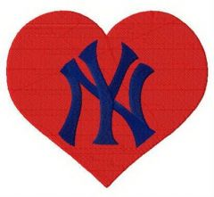 I love New York Yankees embroidery design