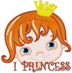 I princess 4 embroidery design
