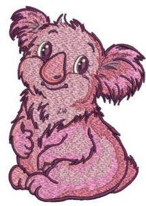I'm koala girl 2 embroidery design