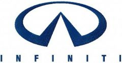 Infiniti logo embroidery design