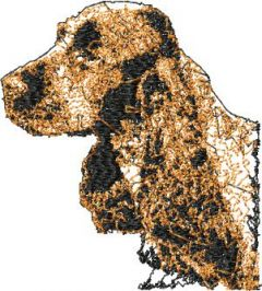 Irish Setter embroidery design